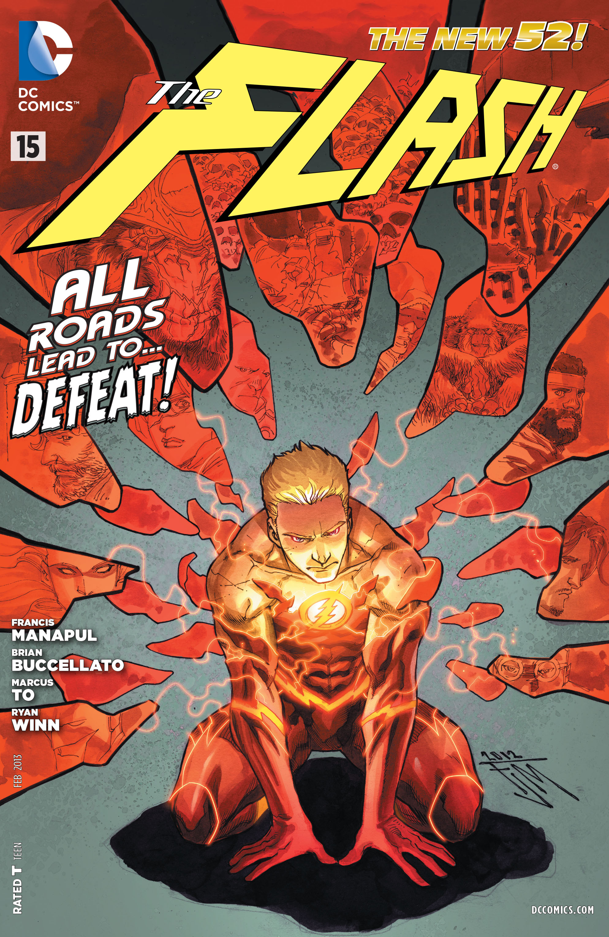 The Flash (2011) issue 15 - Page 1