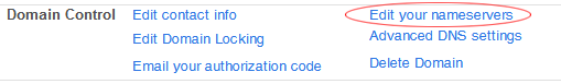 edit nameservers intuit