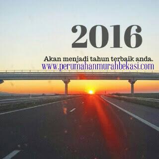 Perumahan Murah Bekasi Mengucapkan Selamat Tahun Baru 2016