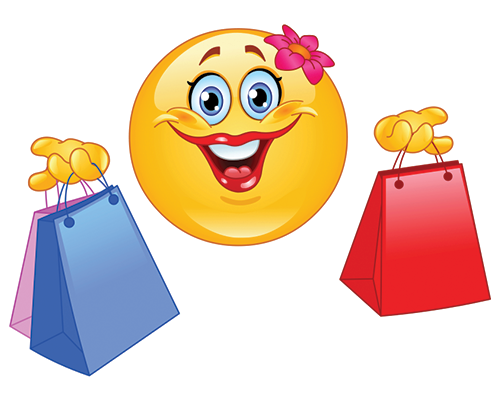 Shopping Smiley