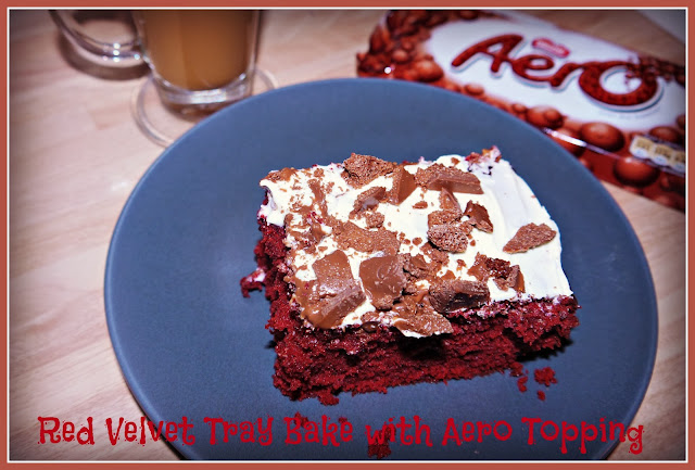 Red Velvet Tray Bake