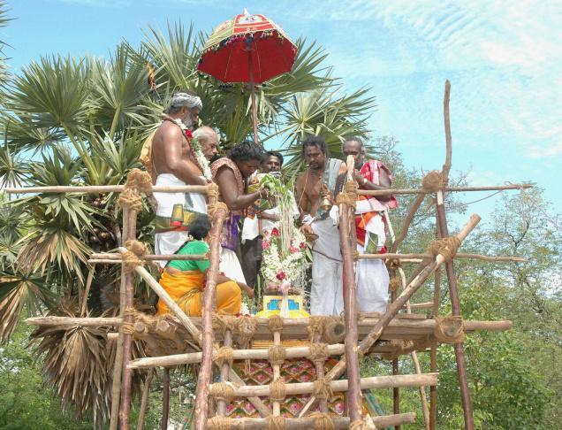 Maha kumbabhishekam, pooja