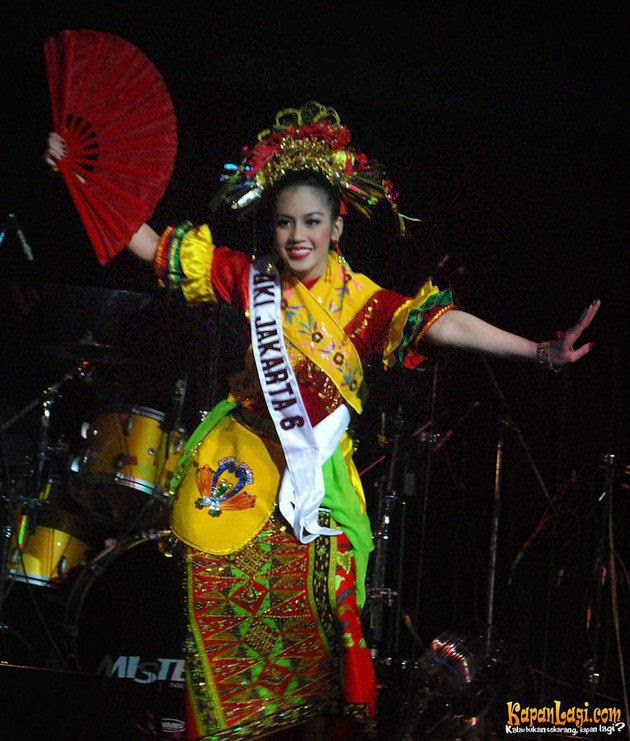 Inda Endaliani Miss Indonesia From Jakarta Special Capital Region
