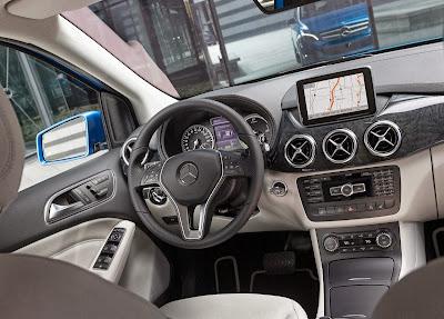 Mercedes-Benz o Classe B Eletric Drive Interior
