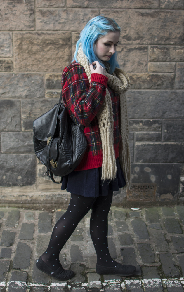 fashion blogger winter outfit ootd black leather backpack