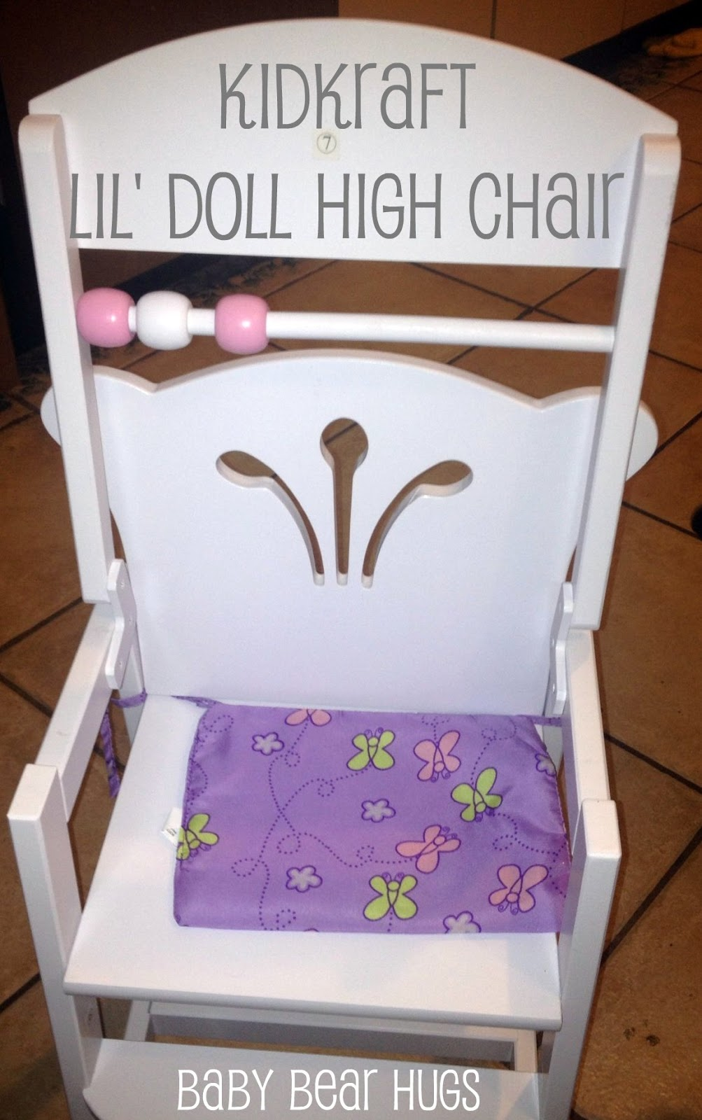 Kidkraft Lilu0027 Doll High Chair