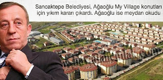 Ağaoğlu'nun villalarına yıkım kararı