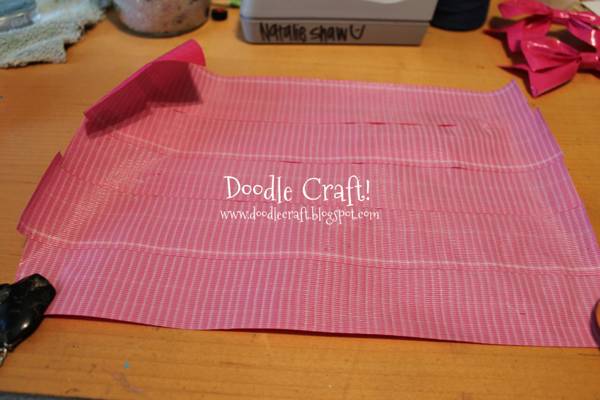 Doodlecraft Duct Tape Hair Bows And Bracelets