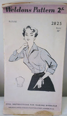 Weldons blouse pattern 2825