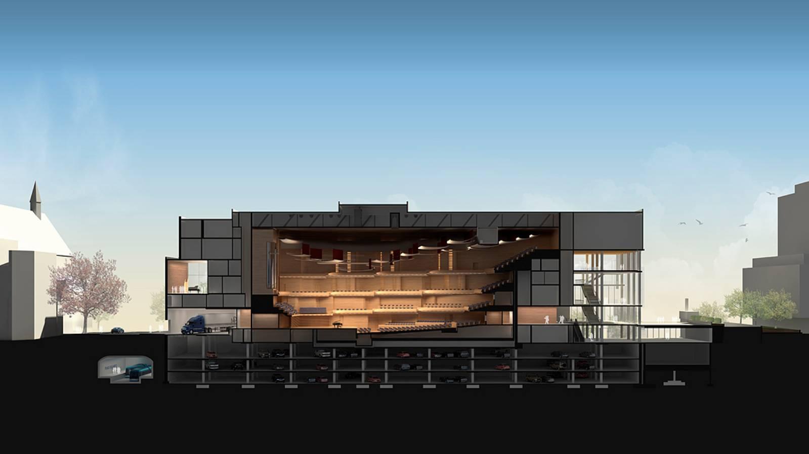 Maison symphonique de montr al by diamond schmitt architects - Maison south perth matthews mcdonald architects ...