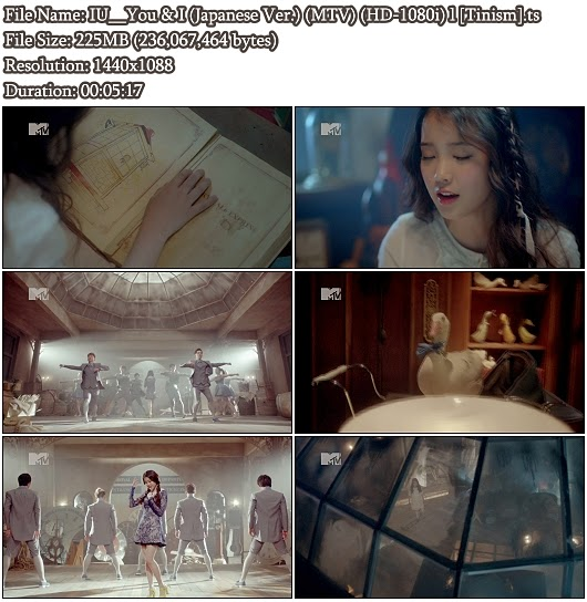 Download PV IU - You & I (Japanese Version) (MTV Full HD 1080i)