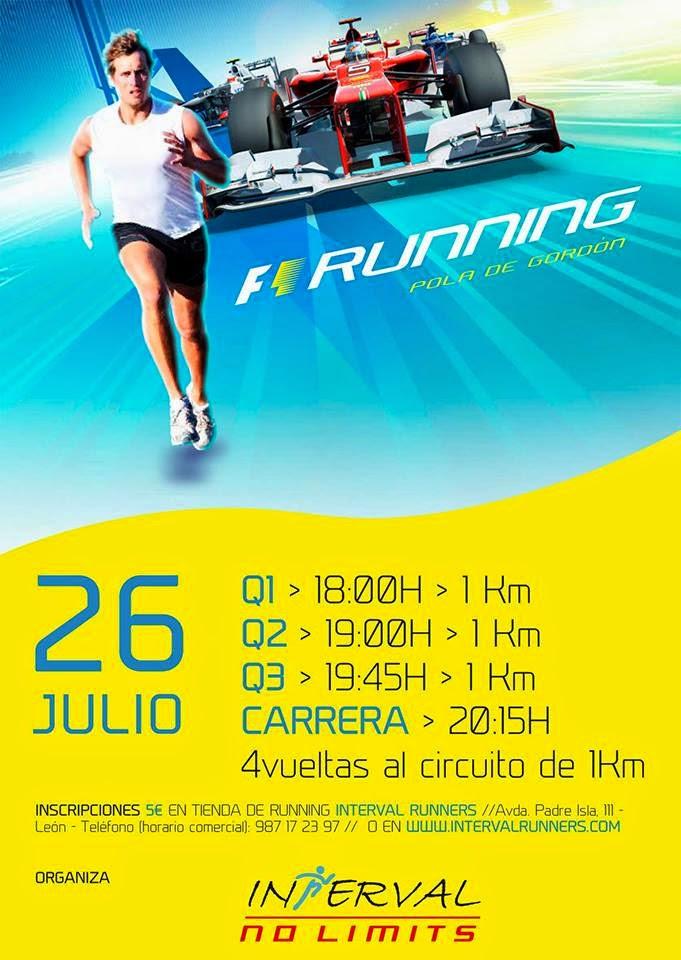 F1 running