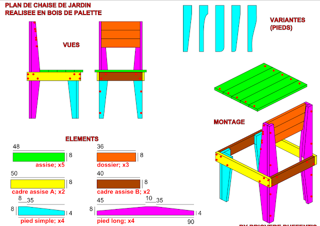 Briovere buffentis nouveau plan de meuble en palette de bois chaise de jardin n 1 - Plan meuble bois ...