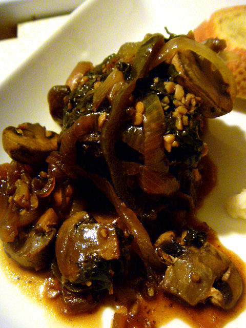 Jalapeno Steak and Mushrooms