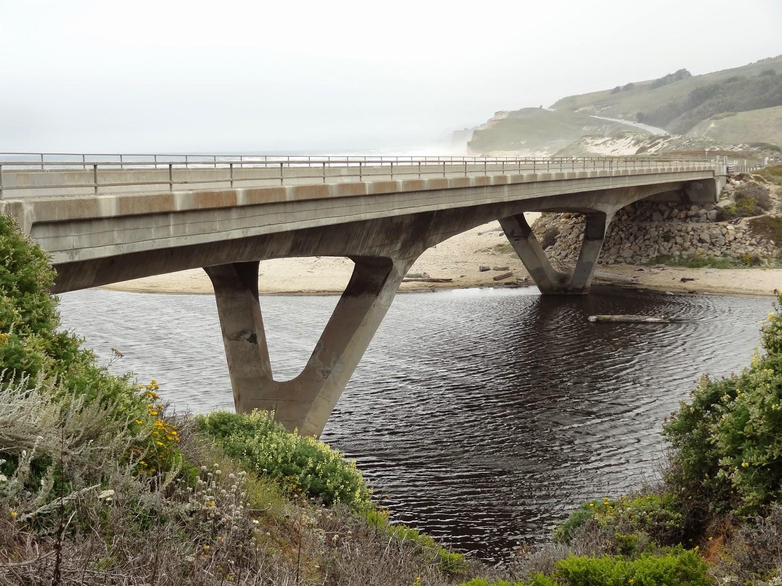 California san mateo county pescadero - San Mateo County California Bridges State Route 1 Across Pescadero Creek 1