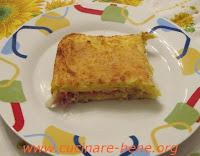 ricetta tortino di patate con speck e gorgonzola