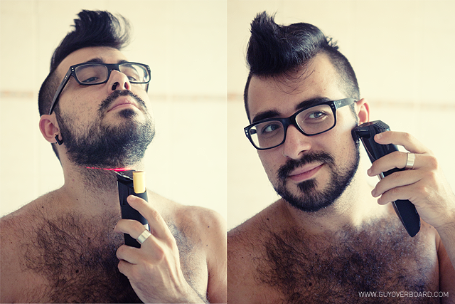 Philips, Beardtrimmer, Fashion blogger, Guy Overboard