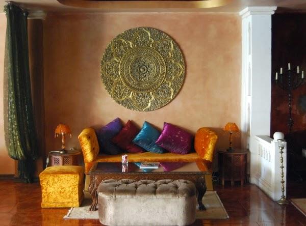 Decoraci n de salas al estilo marroqu ideas para decorar for Decoracion marroqui