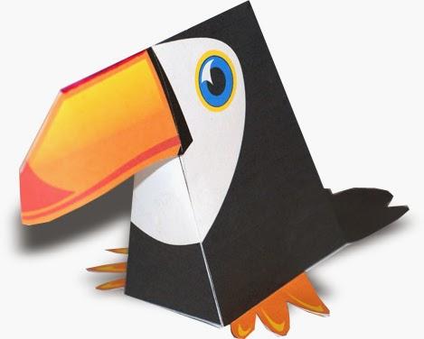 Toucan Papercraft