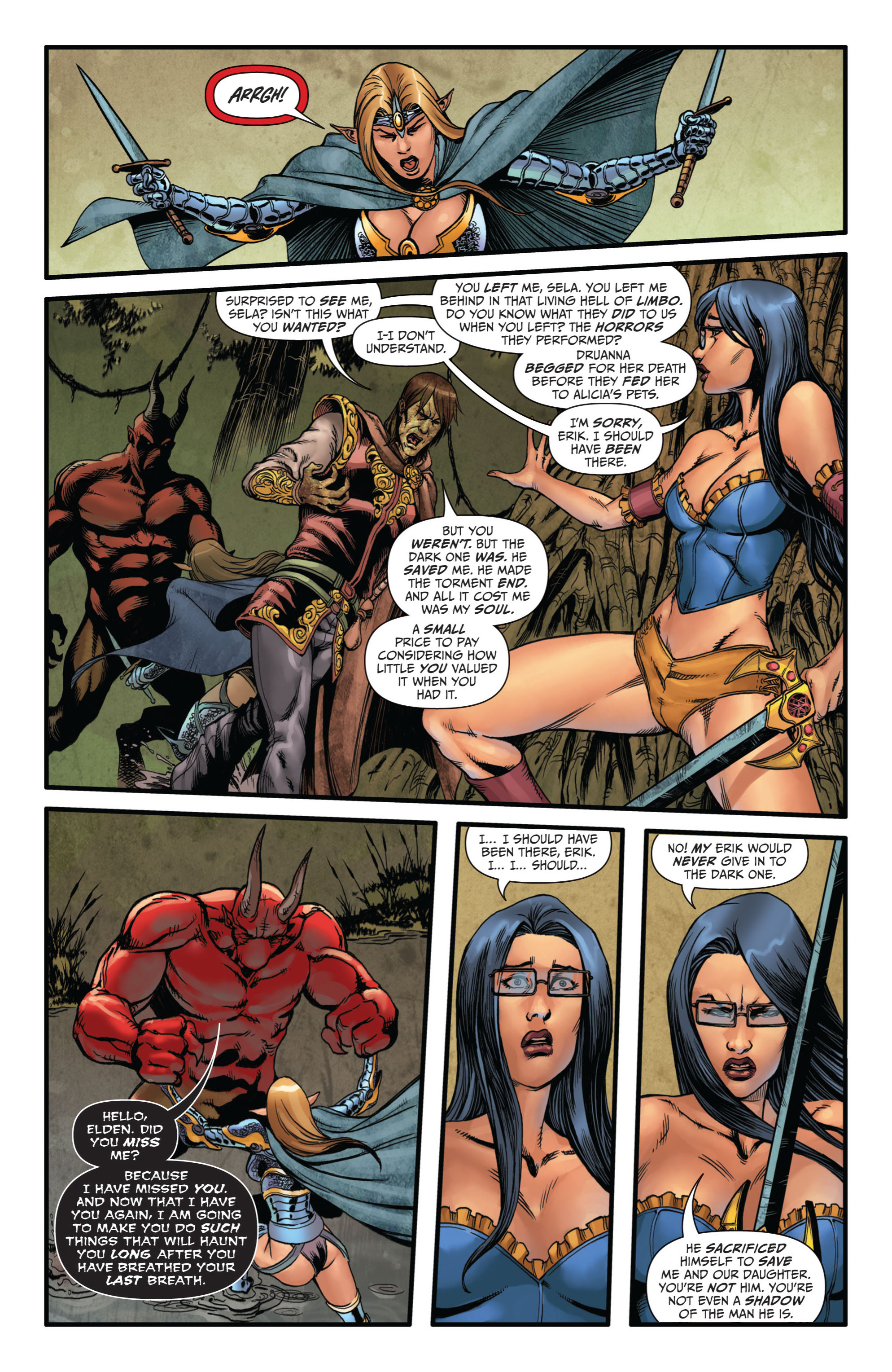 Grimm Fairy Tales (2005) Issue #73 #76 - English 13