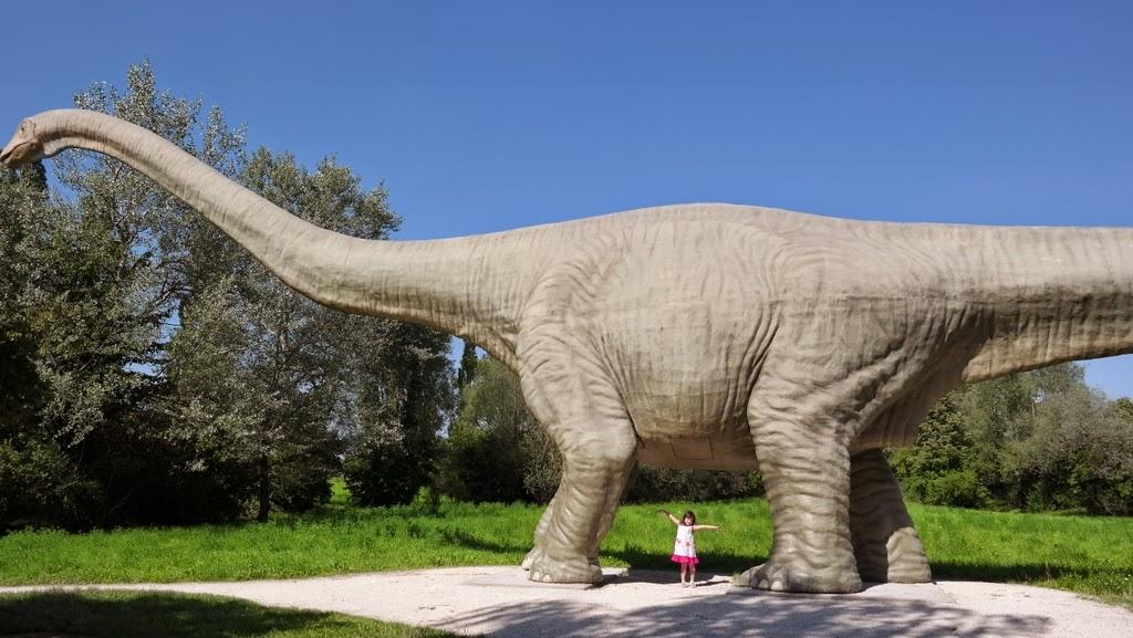 Seismosaurus - Park im Grünen - Basel Suíça