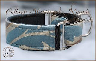 Collar galgo modelo Dragonfly en 4 cm de ancho foto 2