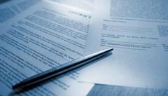 El encargo de los documentos para unas auditorías
