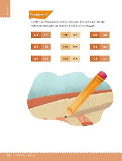 Apoyo Primaria Desafíos Matemáticos 2do Grado Bloque 2 Lección 29 Tablas de colores
