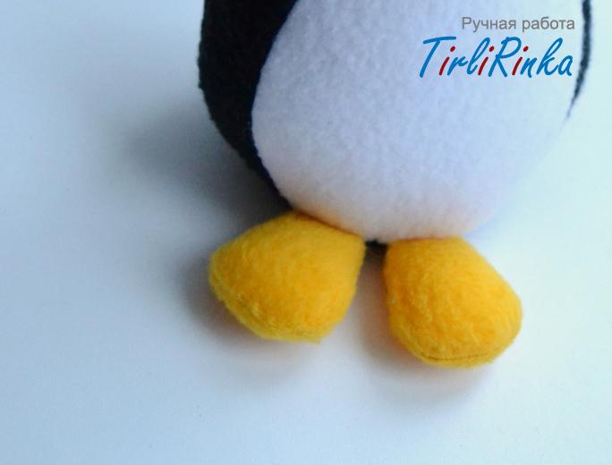 Лапки пингвина своими руками