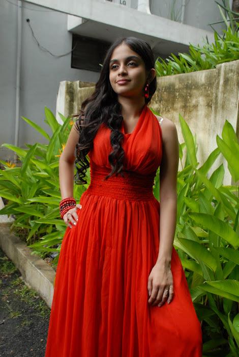 sheena shahabadi shoot red dress hot photoshoot