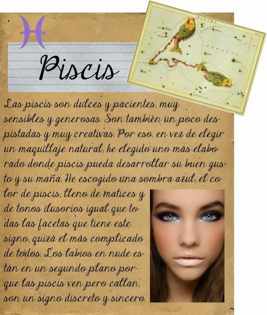 Maquillarse segun tu signo zodiacal, Piscis