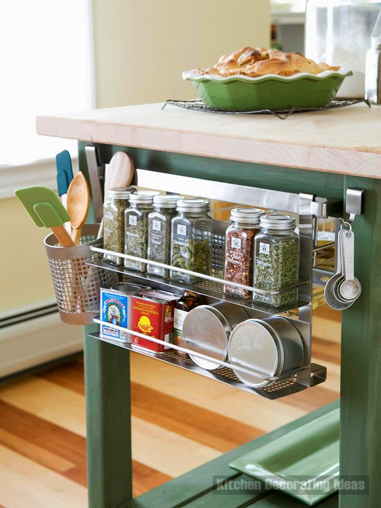 10 spice storage ideas and solutions for small kitchens - Utensilios de cocina ikea ...