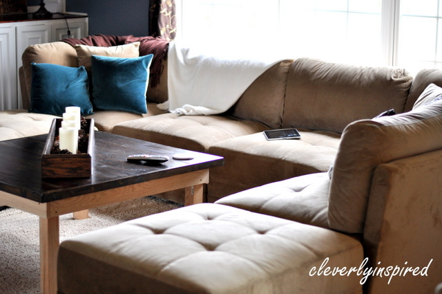 A Costco Sectional Cleverly Inspired