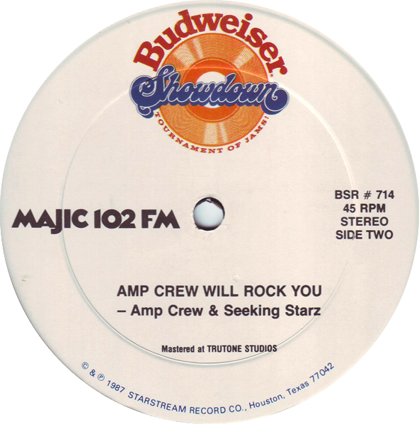 Jon Paul Martinez / Amp Crew & Seeking Starz - With You / Amp Crew Will Rock You