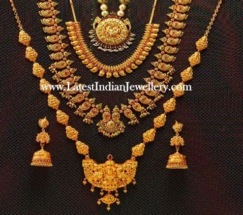 South Indian Traditional Gold Jewellery