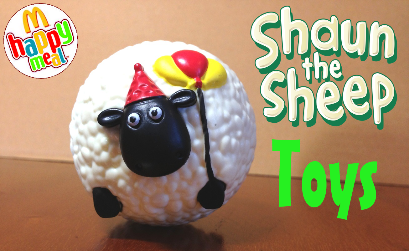 Shaun The Sheep Toys In Happy Meal