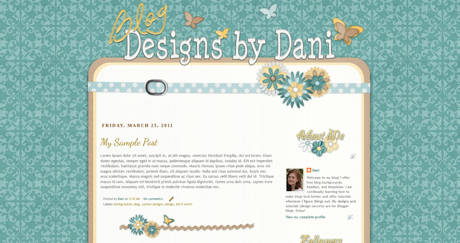 Blog Designs by Dani: How to Make Your Own Custom Blog Template