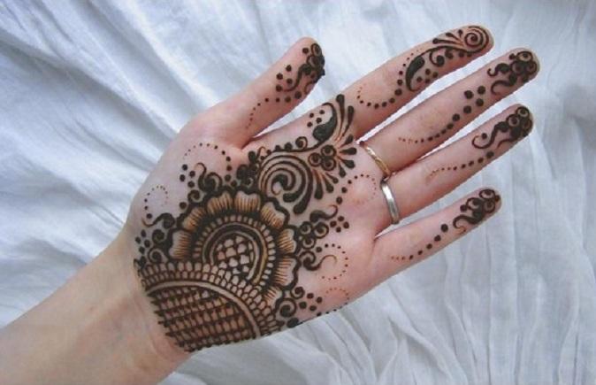 Mehndi Designs Simple : Bridal mehndi designs: simple and elegant arabian designs