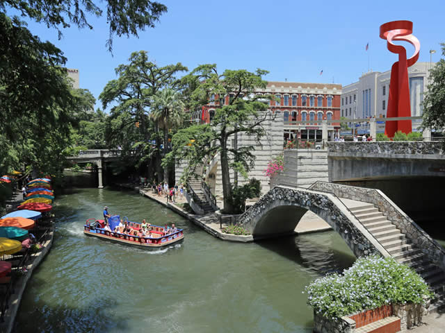 San Antonio River Walk (Paseo del Río), Downtown San Antonio, Texas