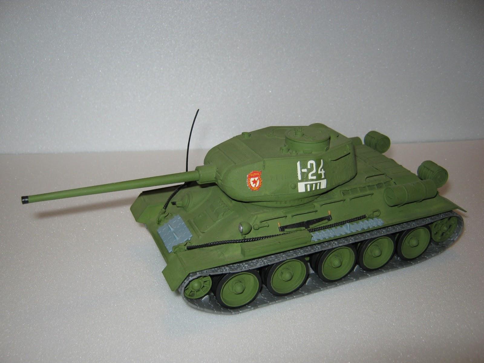 схема компоновки т-34-85