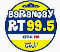 Barangay 99.5 RT Cebu logo
