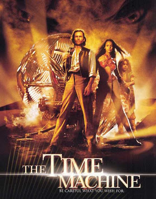 Poster Of The Time Machine (2002) In Hindi English Dual Audio 300MB Compressed Small Size Pc Movie Free Download Only At worldfree4u.com