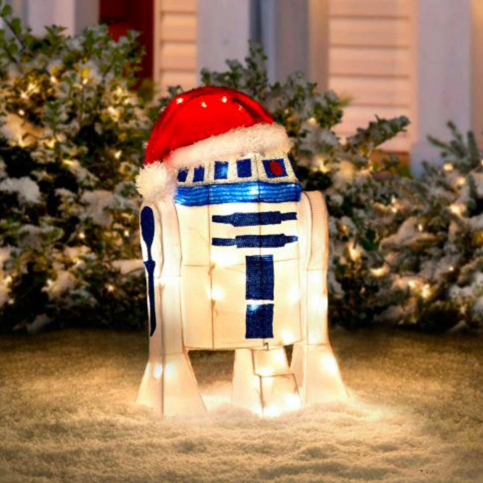 star wars christmas decorations outdoor decoration image idea - R2d2 Christmas Lights