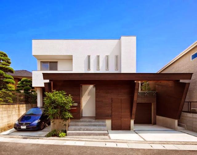 Rumah Minimalis Modern Jepang 2016