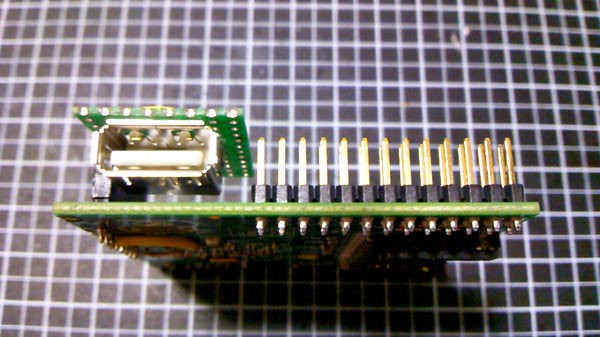 PCB com USB