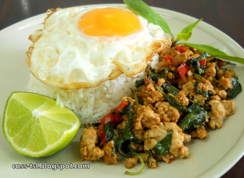 ... 搵到食 **: 泰式鸡肉碎 Thai Basil Chicken(Gai Pad Krapow