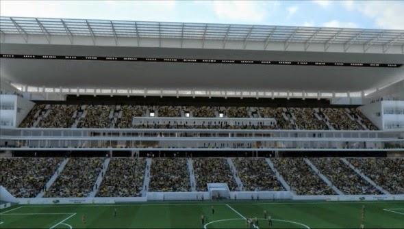 Partido inaugural 2014 estadio Arena San Pablo
