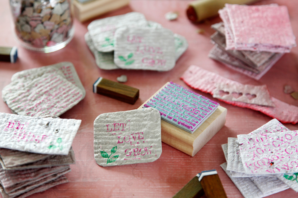 Creativity Unmasked Diy Plantable Seed Paper For Valentines Day