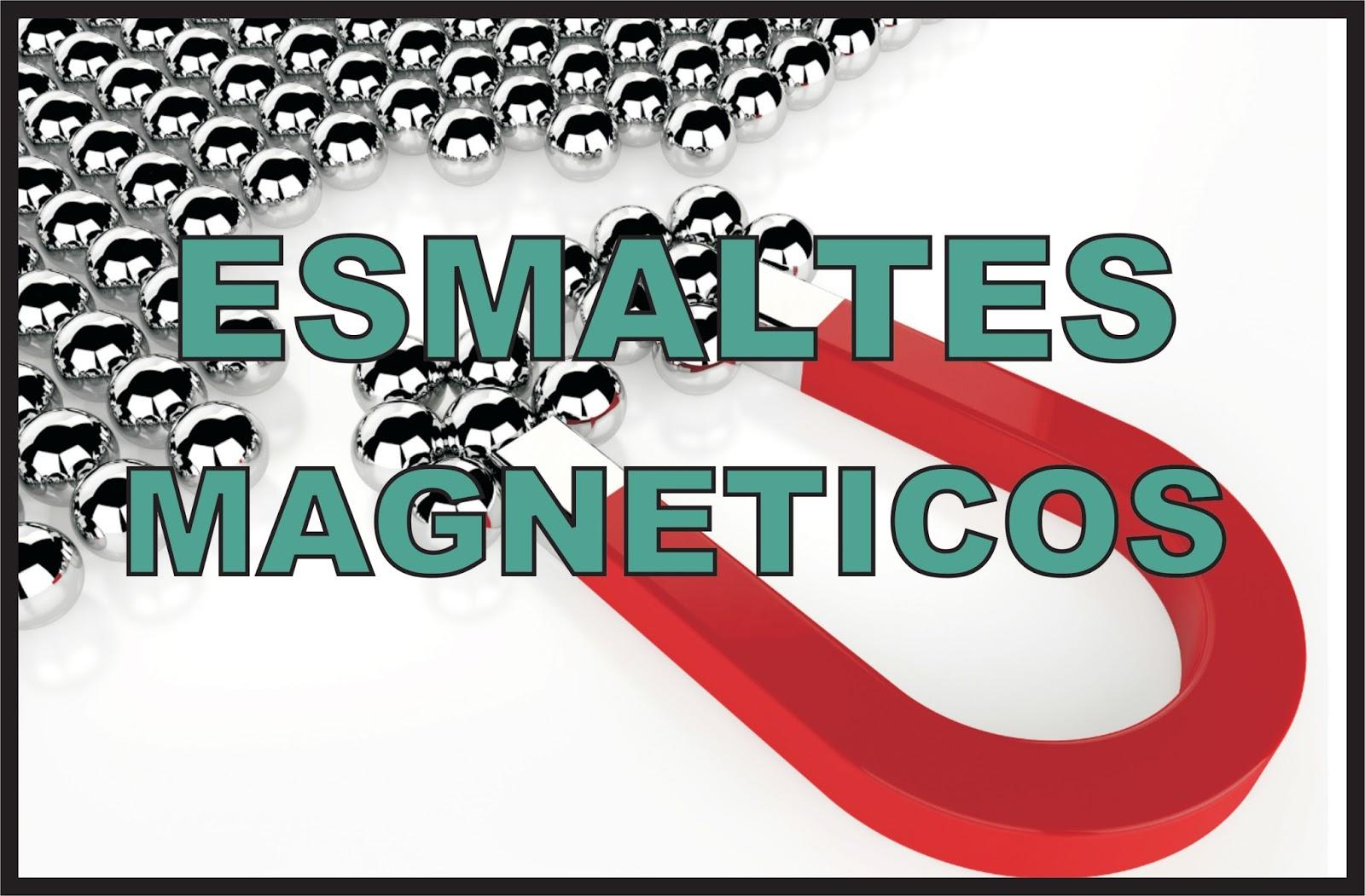 Un poco de esmaltes: ¿Como funciona un esmalte magnético?
