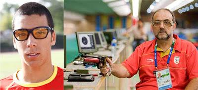 El deportista paralímpico español mñas joven y el más veterano